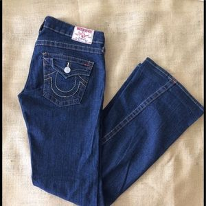 🆕 LISTING.. EUC Twisted Flare Jeans