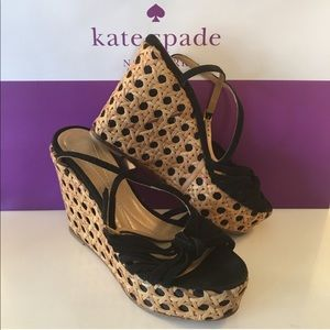 ⭐️KATE SPADE LOVELY WEDGES 💯AUTHENTIC