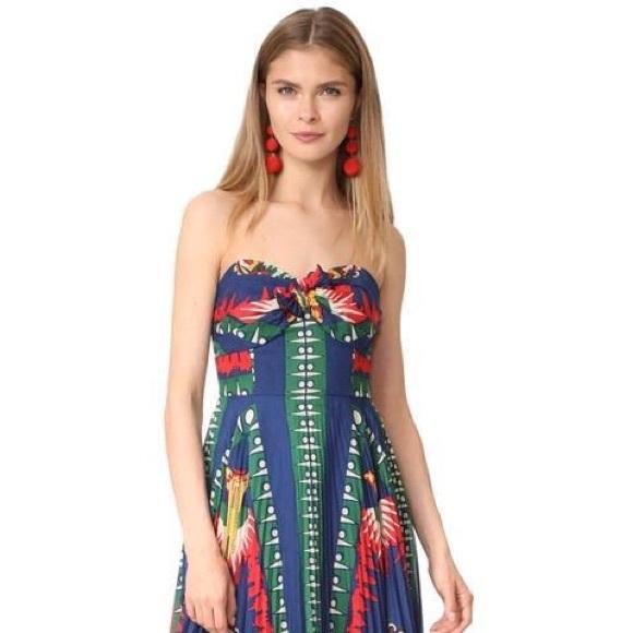 ecafc25c351 Anna Sui Dresses   Skirts - Anna Sui New York Strapless Dress