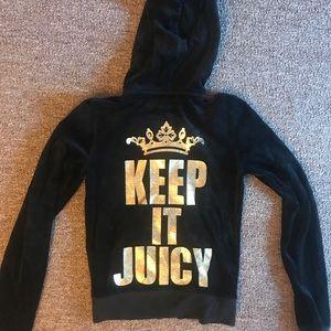 Juicy Couture Velour Zip Up