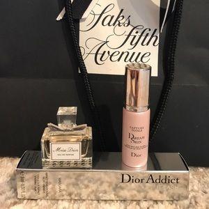 Dior Bundle! Parfum, mascara, and serum!