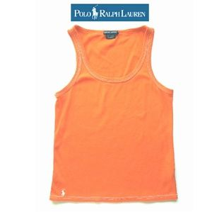 Ralph Lauren Polo orange tank