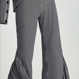 Zara Flowing Frilled Trousers