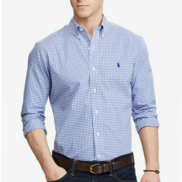 e85fa2879 Ralph Lauren Classic Fit Poplin Shirt. M_59ea072813302adb8300ee1f