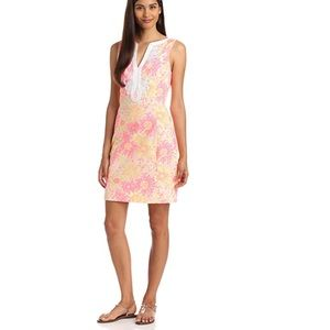 NEW LILLY PULITZER Janice shift dress sunkissed