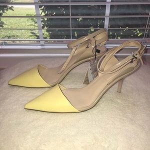 Brand new Zara heels with tag