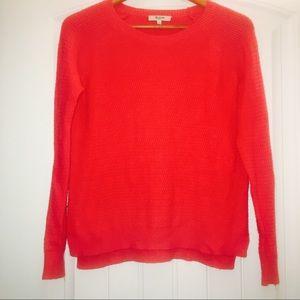 Madewell Leafstitch Crewneck Sweater Size S
