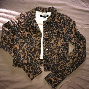 New forever 21 cheetah print jacket