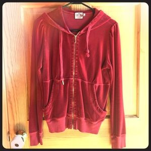 Juicy couture velour hoodie and pants set