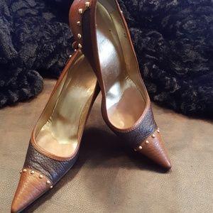 JUST IN🔶️Dolce & Gabbana Vero Cuoio Heels SZ  9