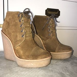Pierre Hardy Suede Bootie