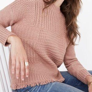 Madewell Stitchmix Sweater XS