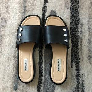 Balenciaga sandals . Size 6