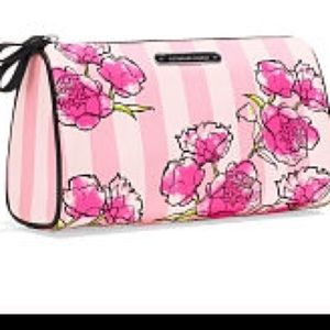 New VS floral  cosmetic bag