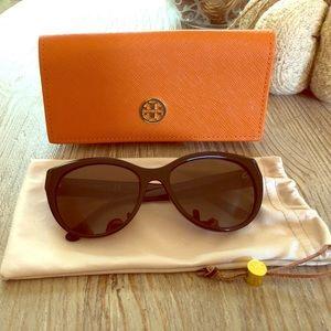 Tory Burch sunglasses - dark black tint