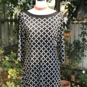 White House Black Market Chainlink Design Dress