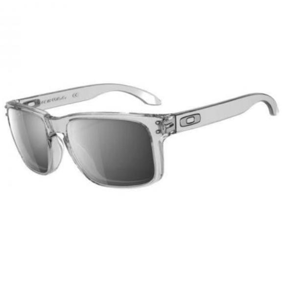027f1b92701 Oakley Holbrook Men s Sunglasses Clear Chrome. M 59ea0e5441b4e0c632010777