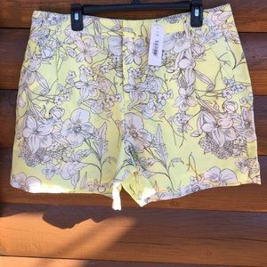 Joe Fresh floral shorts