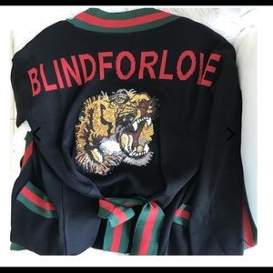 """Sweaters - Tiger Cardigan """"Blinded By Love"""""""