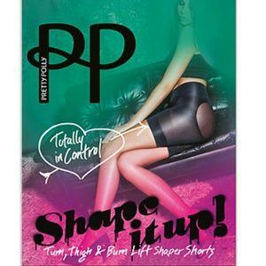 Pretty Polly Tum, Thigh & Bum Lift Shaper Shorts