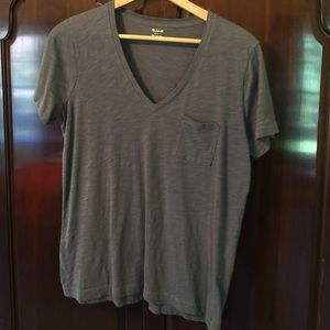 Madewell t-shirt Gray large
