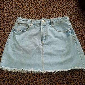 Mini Denim skirt sky blue