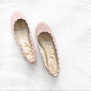 BRAND NEW!! 💗 Sam Edelman Francis Scalloped Flat