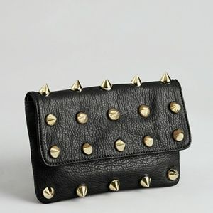 Deux Lux Black 'empire Strikes Back' Spiked Clutch