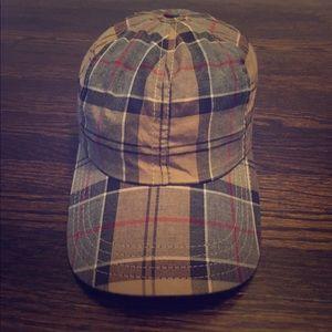 Barbour Plaid Baseball Cap