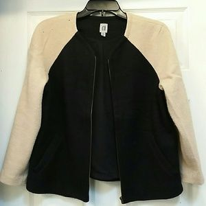Urban outfitters wool color block jacket