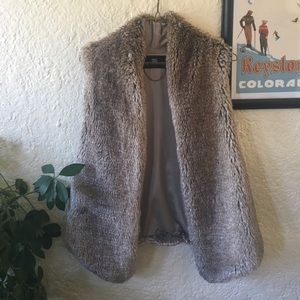 Tart Collections Faux Fur Vest