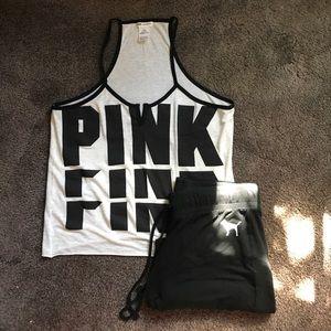 VS Pink pajamas!