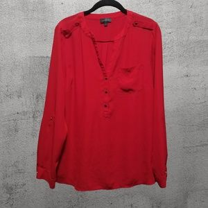 The Limited Red Blouse