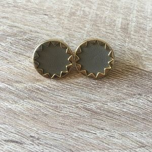 Authentic House of Harlow sunburst earrings