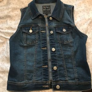 Other - Jeans vest for girls 12/14 yrs. good condition
