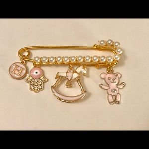 Other - Personalized baby safety pin