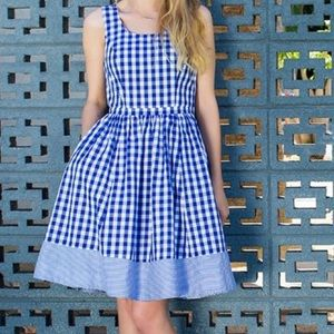 💙MODCLOTH💙BEA AND DOT GINGHAM DRESS💙