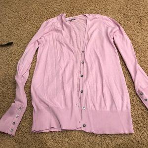 Old navy purple cardigan smoke free good condition