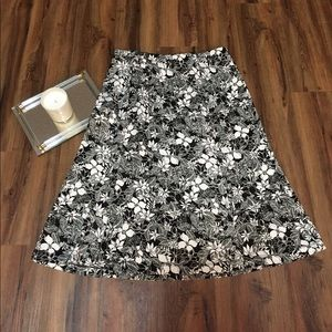Talbots Floral Skirt