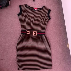 Classy stripped dress