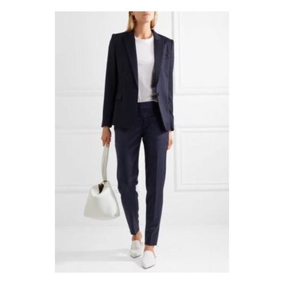 Stella McCartney Pants - Stella McCartney Slim Trouser Pants w/ Ankle Zip