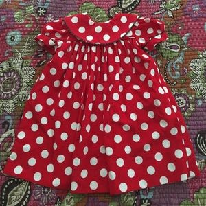 Other - Red/white polka dot holiday dress