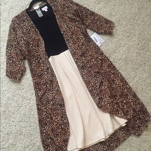 Leopard Shirley and Black Cream Amelia
