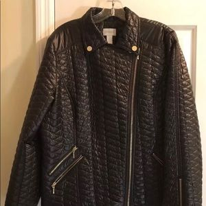 Chico's Quilted Nylon Jacket