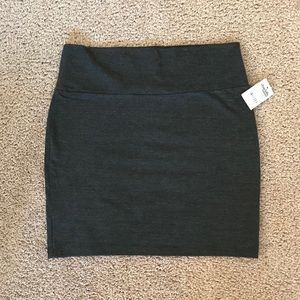 Fitted Mini Skirt // NWT!