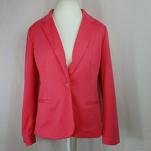 1a5b8712eb6b6 212 Collection Jackets   Blazers - 212 Rose Pink Lined Knit Blazer Suit  Jacket