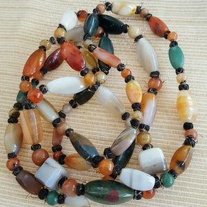 Vintage Stones Boho Necklace