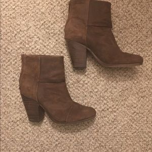 Brown Booties Rag & Bone