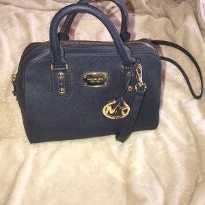 Michael Kors Navy Blue Purse