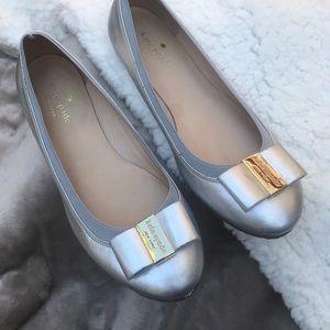 Kate Spade bow ballet shoes.